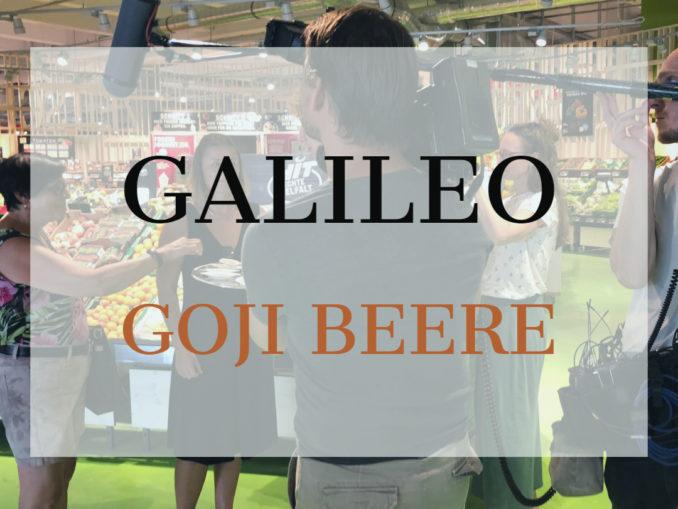 Galileo Goji Sendung